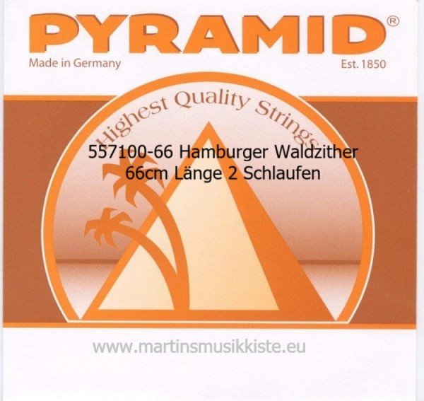 Pyramid - 557100-66 Hamburger Waldzither