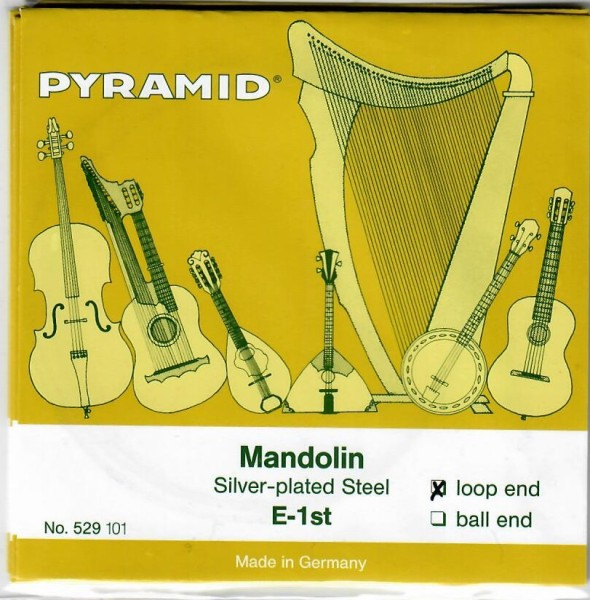 Pyramid - 529100 silverplated loopend