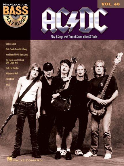 HAL LEONARD - HL14041594 AC/DC Play along