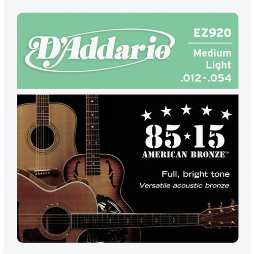 DAddario - EZ920 85/15 Bronze Light