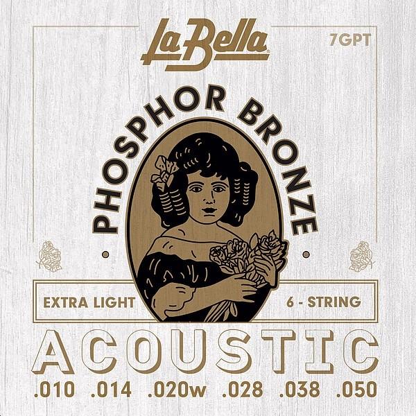 La Bella - 7GPT phosphor bron exta light