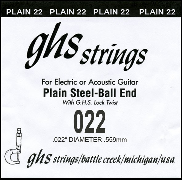 GHS - DY022P 022 plain Ball End