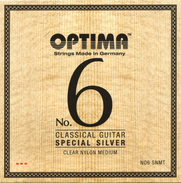 Optima - No.6 SNMT Silver Classic Nylon