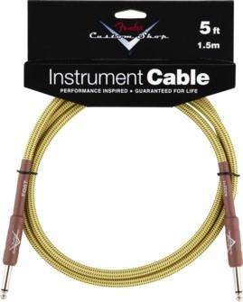 Fender - Custom Shop Kabel 1,5m Tweed