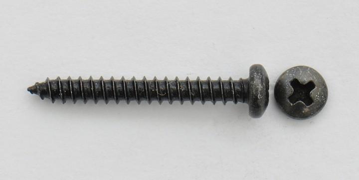 Goeldo SR25B Schraube für Strat Pickups schwarz US-Gewinde