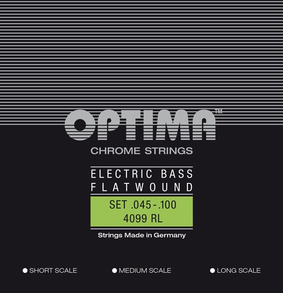 Optima - 4099 Bass Flatwound 045/100