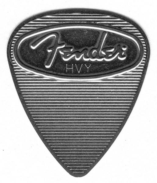 Fender - Steel Pick 4-Pack Heavy