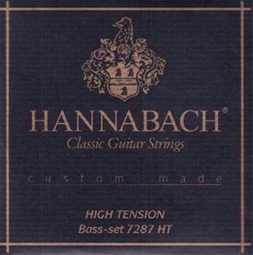 Hannabach - 7287HT 3er Bass Set High