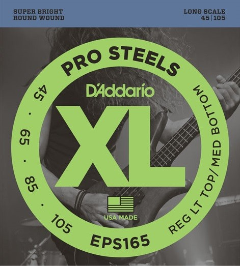 DAddario - EPS165 Pro Steels Stainless