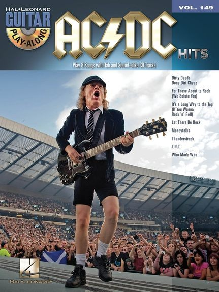 HAL LEONARD - HL14041593 Play along AC/DC