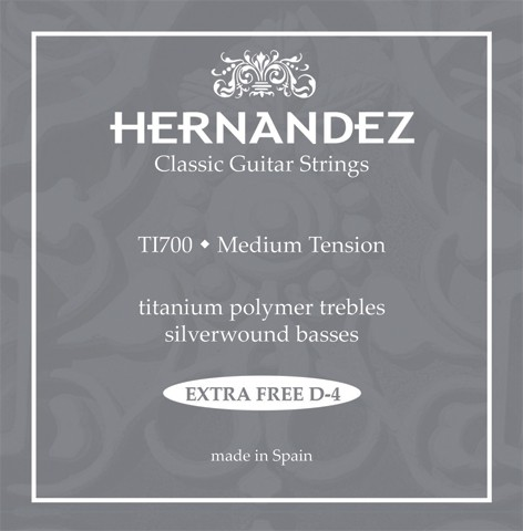Hernandez - TI700 Titanium polymer trebles
