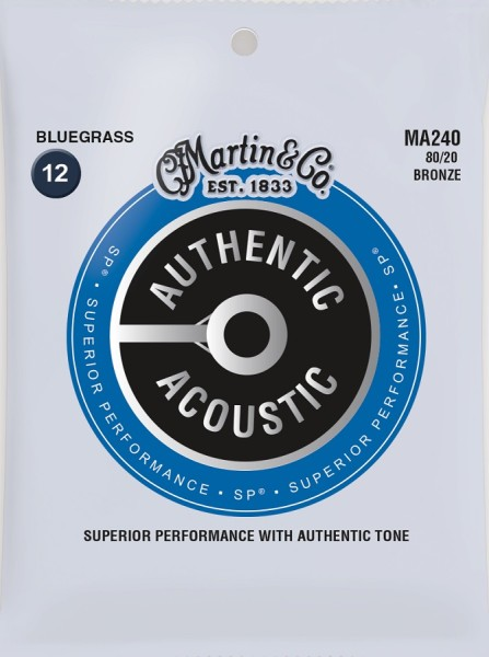 Martin - MA240 Bronze 80/20 Bluegrass