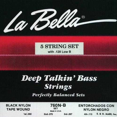 760NB 5S LOW B Black Nylon