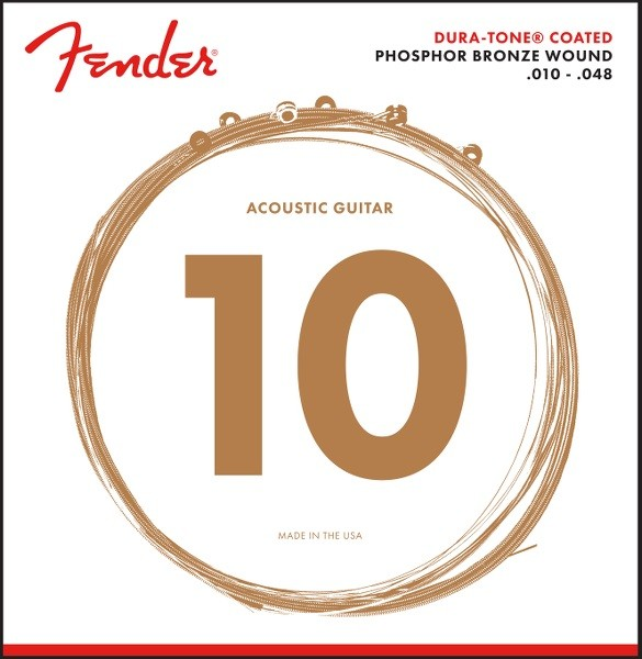 Fender - 860XL Phosphor Bronze Coated