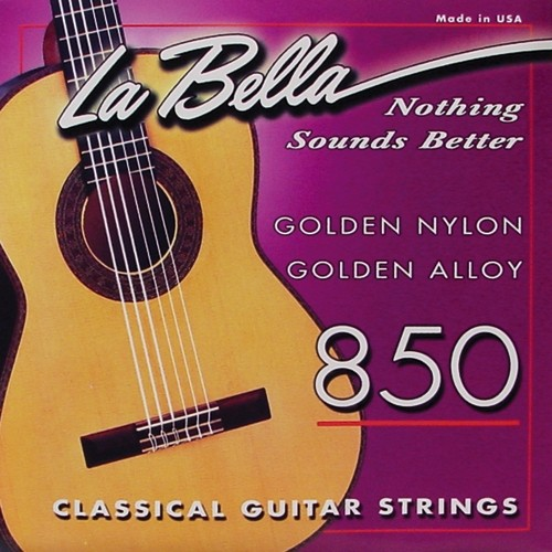 La Bella - 850 Golden Nylon Concert