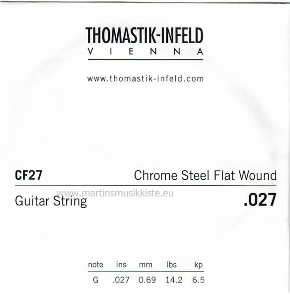 Thomastik - CF27 G3 aus CF128 Flatwound