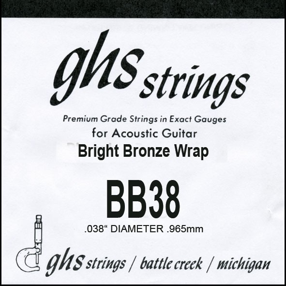 BB38 Bright Bronze 038 wound