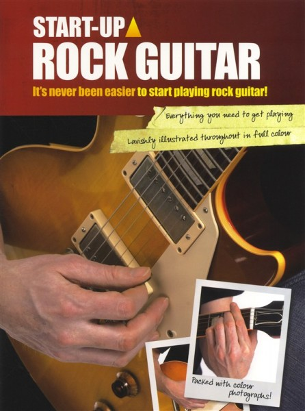 Wise Publications - AM1002925 Startup Rock Guitar