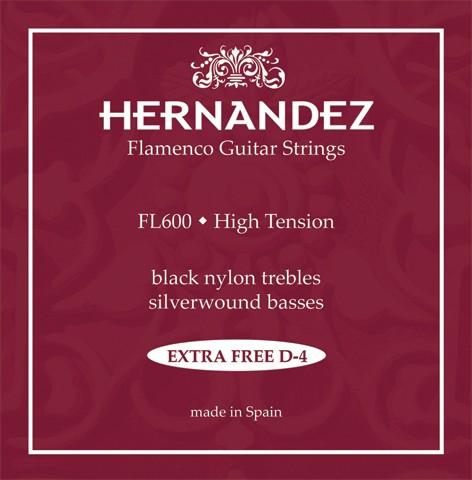 Hernandez - FL600 Flamenco black nylon