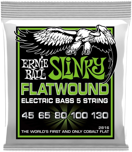 Ernie Ball - EB2816 Flatwound Regular