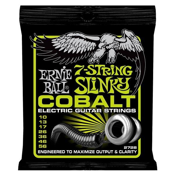 Ernie Ball - EB2728 Cobalt 7-String 10-56