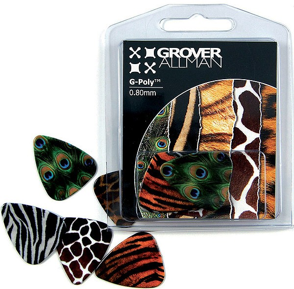 GroverAllman - Animal Print 5 Plektren