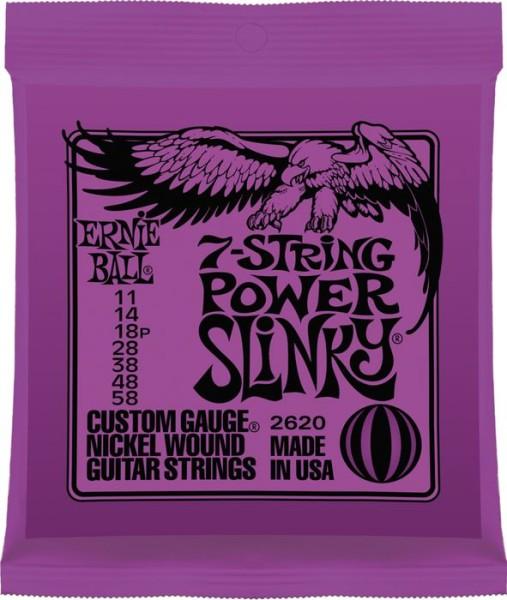 Ernie Ball - EB2620 7-string Power Slinky