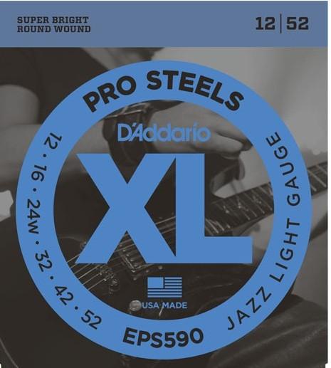 DAddario - EPS590 Jazz Light Pro Steels