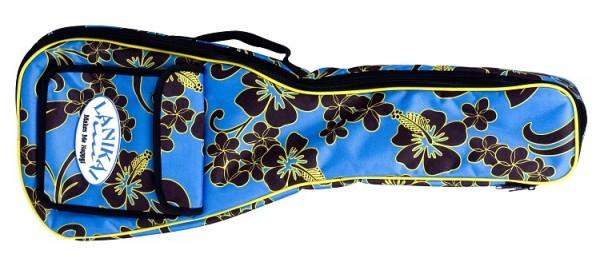 Lanikai - Floral Gigbag Bariton Ukulele