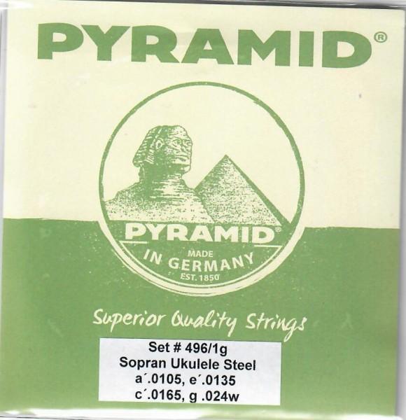 Pyramid - 4961G Sopran Uke Stahl low G