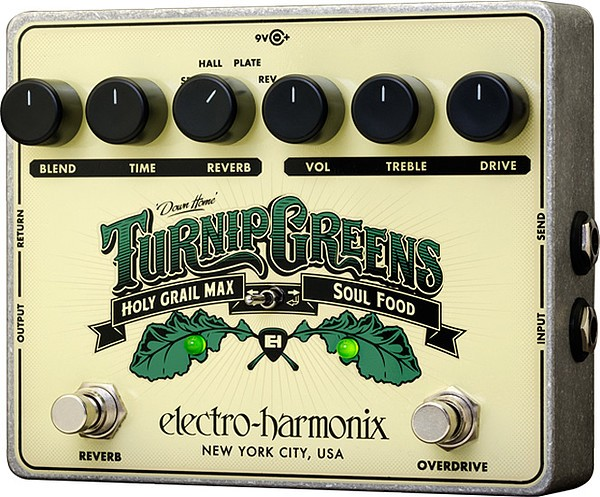 Turnip Greens Overdrive Reverb
