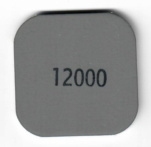 MM12000 Pad 5x5 Körnung 12000