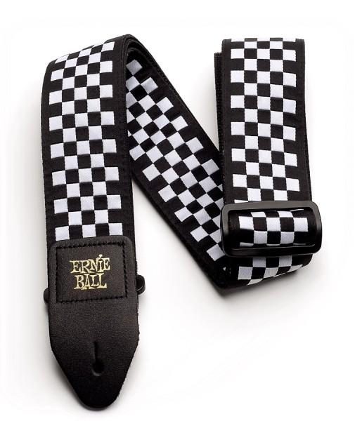 Ernie Ball - EB4149 Jacquard Gurt checkered