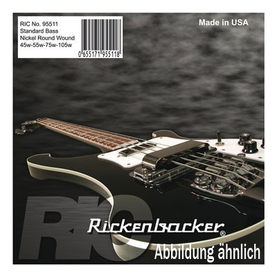RICKENBACKER - 95511 Nickel 45-55-75-105