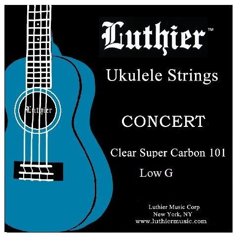 Luthier - Concert Ukulele LOW G Carbon