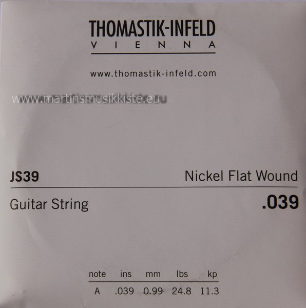 Thomastik - JS39 Nickel Flatwound 039w