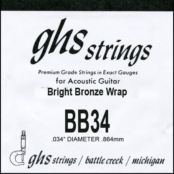 GHS - BB34 Bright Bronze 034 wound