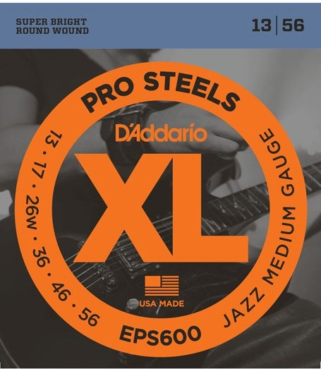 DAddario - EPS600 Pro Steels Jazz medium