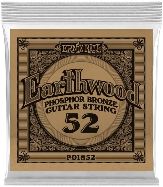 Ernie Ball - EB1852 Earthwood PhoBr 6 Stk