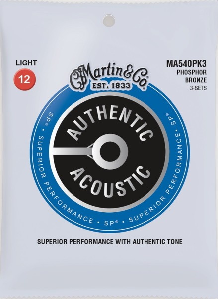 Martin - MA540PK3 Ph-Bronze Authentic