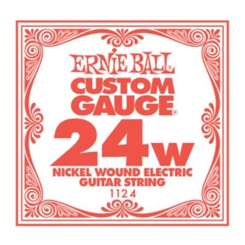 Ernie Ball - EB1124 024 wound Einzelsaite