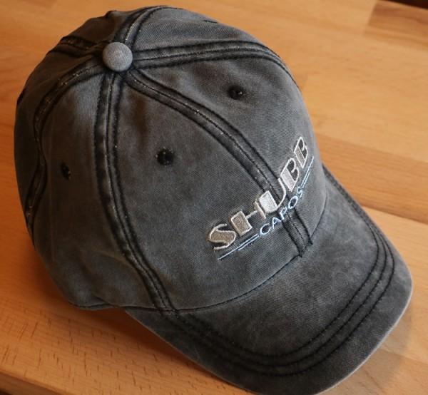 Canvas Cap grau Shubb Logo