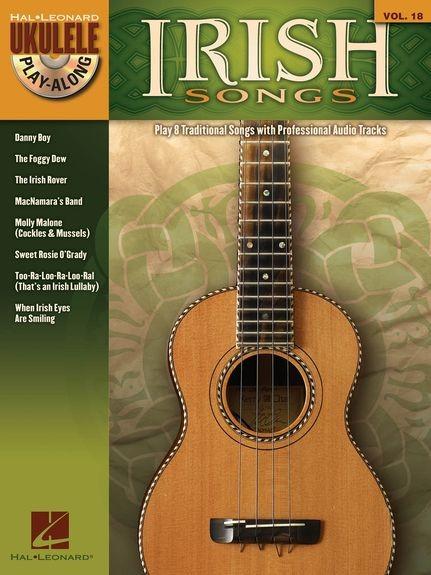 HAL LEONARD - HL00703086 UPA 18 Irish Songs