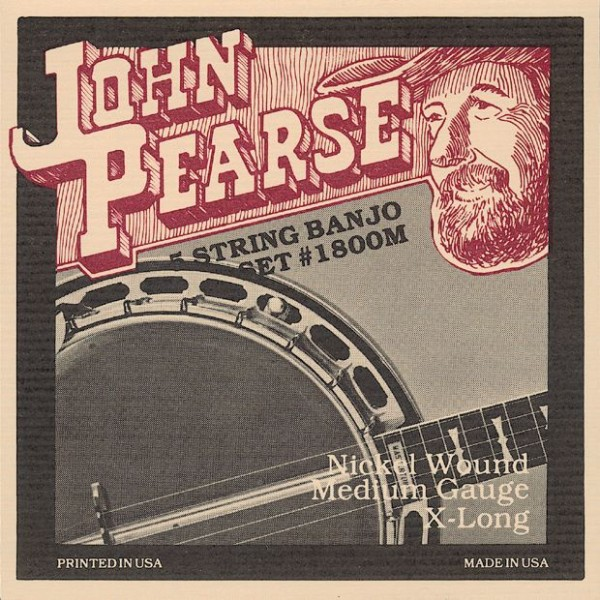 John Pearse - 1800M 5S Nickel Wound
