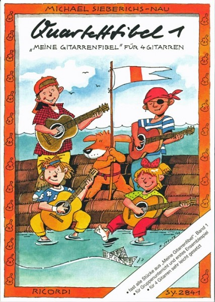 Ricordi Verlag - SY2841 Quartettfibel 1