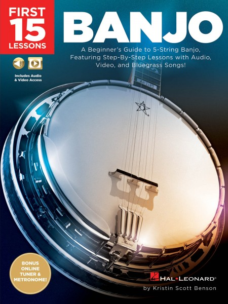 HAL LEONARD - HL00244649 First 15 Banjo Less
