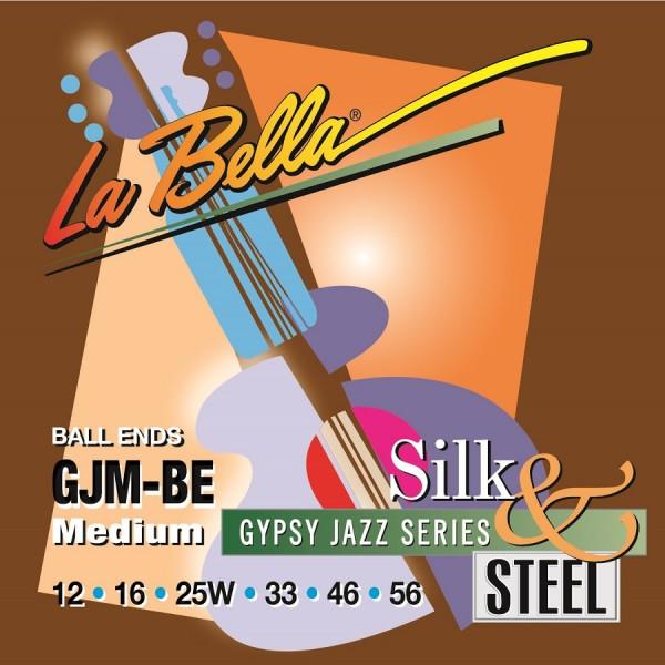 La Bella - GJM-BE Gypsy Jazz Ball End 012