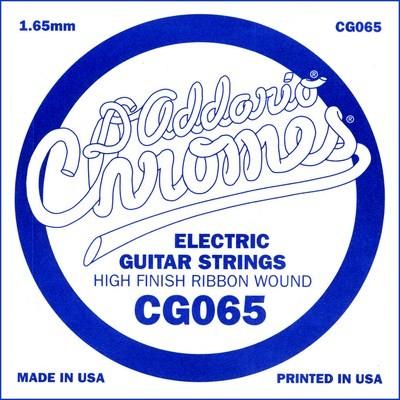 DAddario - CG065 flatwound ES Chromes