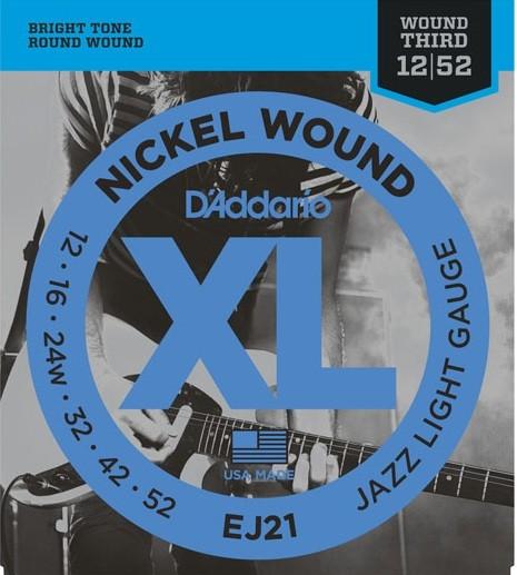 EJ21 Jazz light nickel wound
