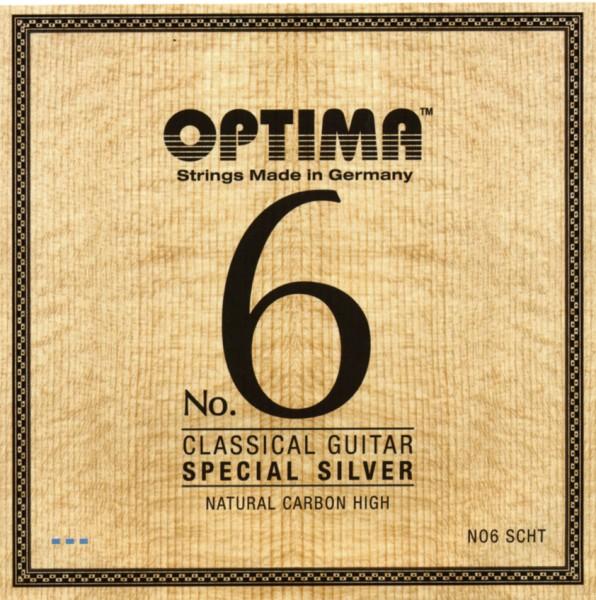 Optima - No.6 SCHT Silver Carbon